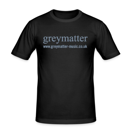 greymatter vectors copyb - Men's Slim Fit T-Shirt