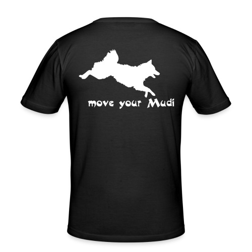 moyomu white - Men's Slim Fit T-Shirt