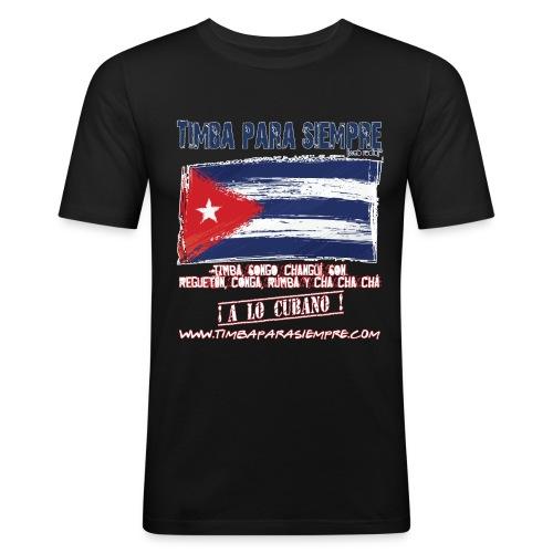 logo front red final border5 red png - Men's Slim Fit T-Shirt