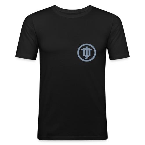 steiffflogoglatt - Männer Slim Fit T-Shirt