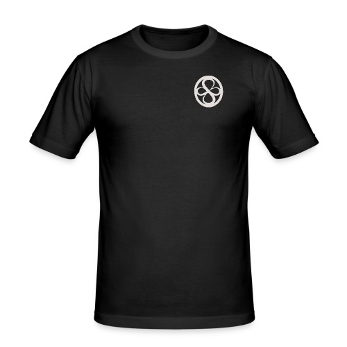 Logo Langarmshirt - Männer Slim Fit T-Shirt