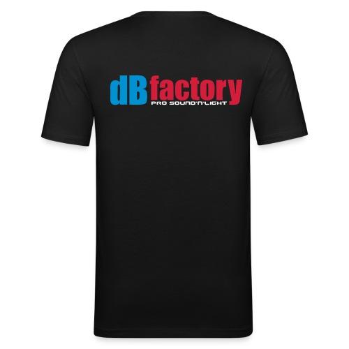 dbfactory 4farb - Männer Slim Fit T-Shirt
