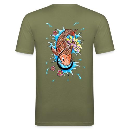 Koi Fish - Men's Slim Fit T-Shirt