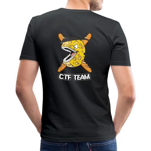 sideway better like thist - T-shirt près du corps Homme
