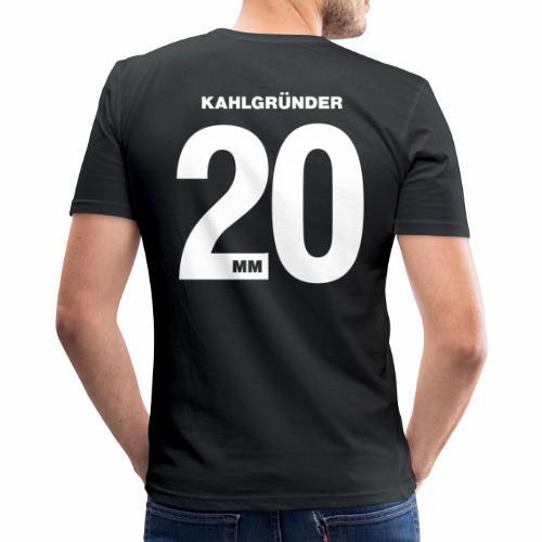 Kahlgruender 2020 - Männer Slim Fit T-Shirt