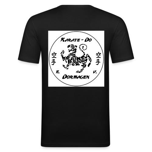 KDD Logo schwarz jpg - Männer Slim Fit T-Shirt