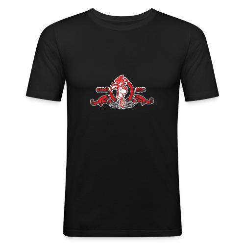 Mr Wolf front - Men's Slim Fit T-Shirt