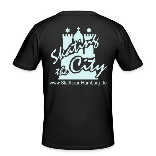 Stadttour Hamburg - Männer Slim Fit T-Shirt