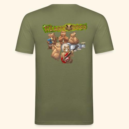 Tshirt groupe complet (dos) - T-shirt près du corps Homme