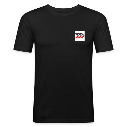 masterblog logo - Maglietta aderente da uomo