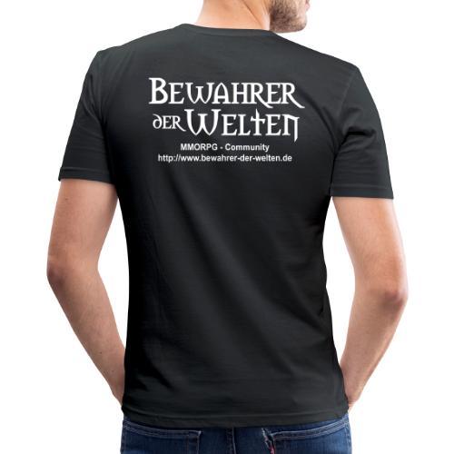 bdw plot1 - Männer Slim Fit T-Shirt