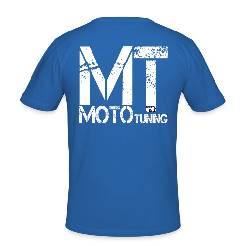 MotoTuning Logo - Men's Slim Fit T-Shirt
