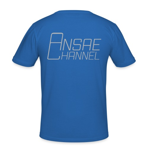 Ansae Channel - Slim Fit T-shirt herr