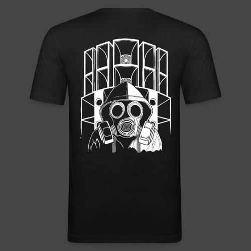 tekno 23 masque à gaz - T-shirt près du corps Homme