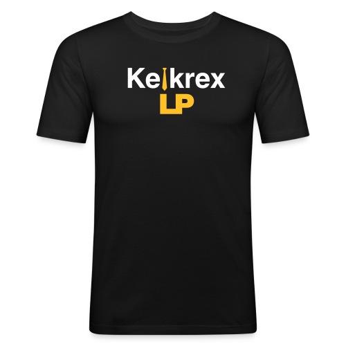 KelkrexLP schwarz - Männer Slim Fit T-Shirt