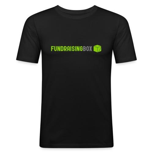 FundraisingBox - Männer Slim Fit T-Shirt
