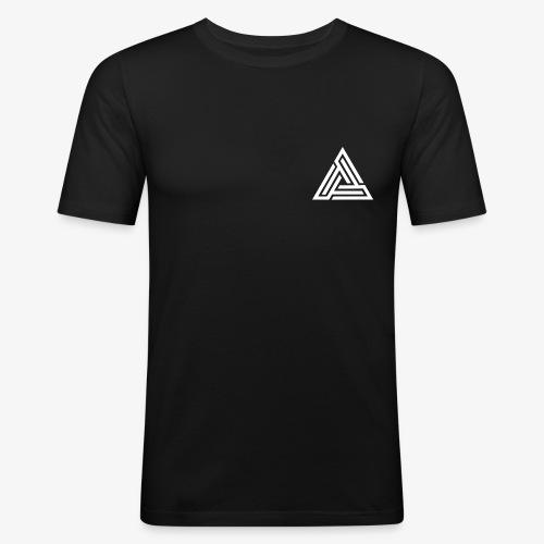 Hizo Logo White png - Men's Slim Fit T-Shirt