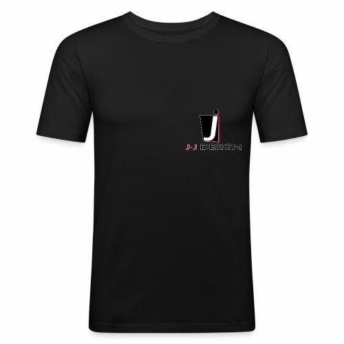 LOGO _ J-J DESIGN_Spreads - Herre Slim Fit T-Shirt