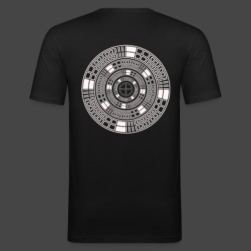 23 spirale tekno - T-shirt près du corps Homme