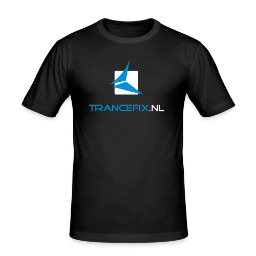 trancefix logotext - Men's Slim Fit T-Shirt