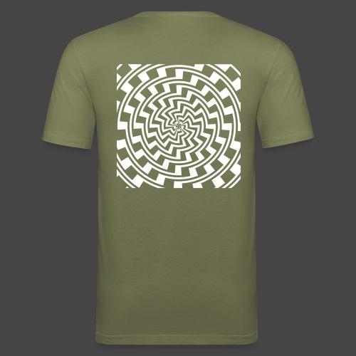 spirale 23 - T-shirt près du corps Homme