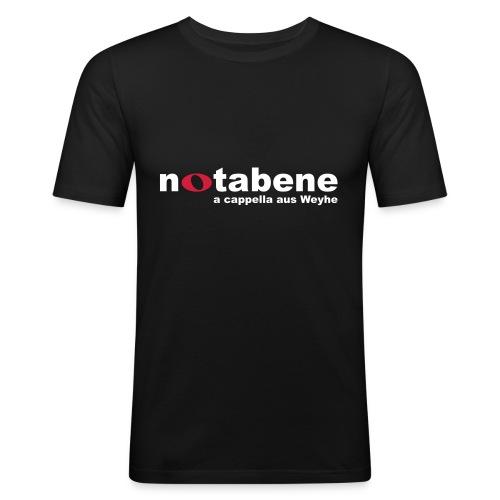 2015 01 16 Rücken - Männer Slim Fit T-Shirt