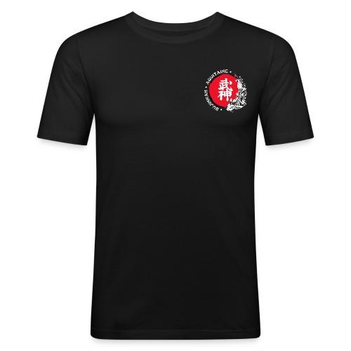 Logo2015 tshirt blanc png - T-shirt près du corps Homme