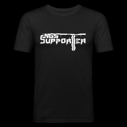 SUPPORTER_FVCK_L - Men's Slim Fit T-Shirt