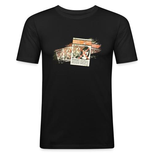 ja bia motive 03 zeitung arulco express - Männer Slim Fit T-Shirt
