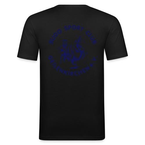 bsclogo vereinfacht 25cm - Männer Slim Fit T-Shirt
