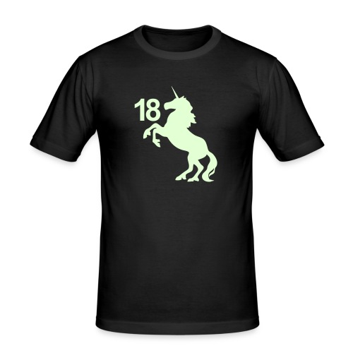 unicorn_18 - Männer Slim Fit T-Shirt