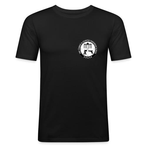 CACTS weiss - Männer Slim Fit T-Shirt