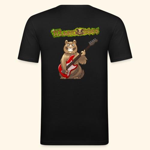 Tshirt Homme Bassiste dos - T-shirt près du corps Homme