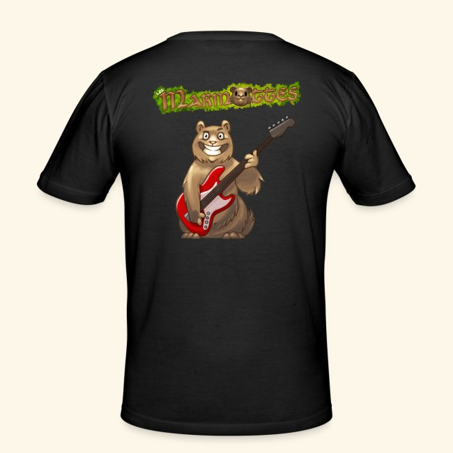 Tshirt Homme Bassiste dos