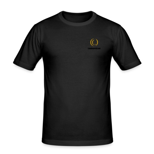 Tshirt Yellow Front logo 2013 png - Men's Slim Fit T-Shirt