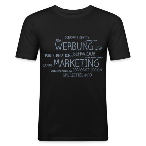 Marketing Cloud - Männer Slim Fit T-Shirt