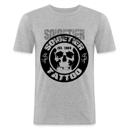 logo bad1 - Männer Slim Fit T-Shirt