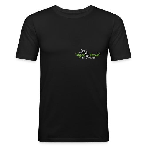 Black-Forest-Frontside - Männer Slim Fit T-Shirt