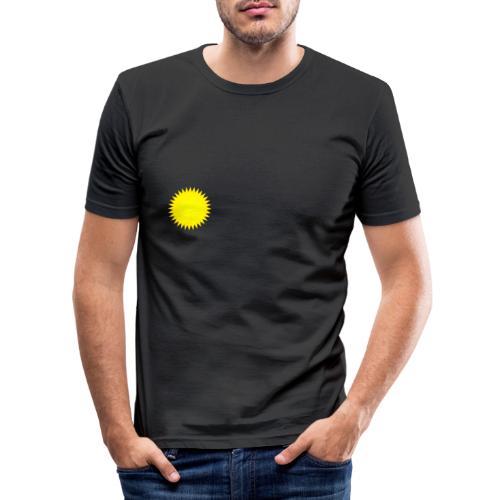 Sonne - Männer Slim Fit T-Shirt