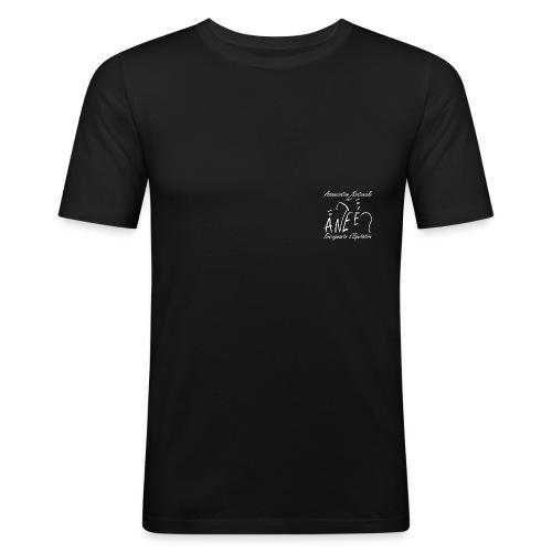 Logo Pauline AWAIIII blanc png - T-shirt près du corps Homme