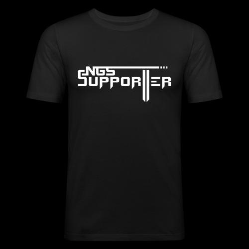 SUPPORTER_SUN_L - Men's Slim Fit T-Shirt