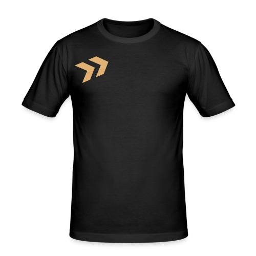 Spitzklammer - Männer Slim Fit T-Shirt