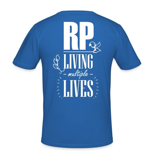 Role play - Living multiple lives - Herre Slim Fit T-Shirt