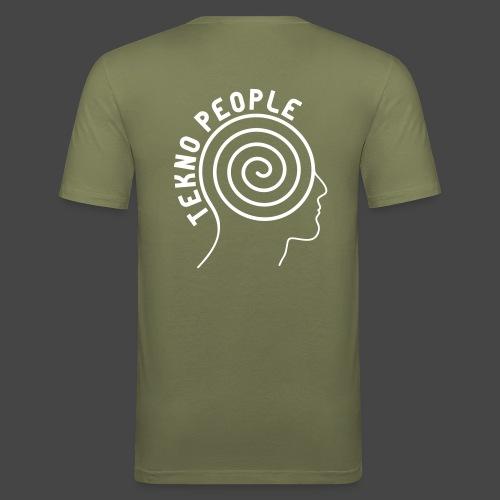personnes tekno - T-shirt près du corps Homme