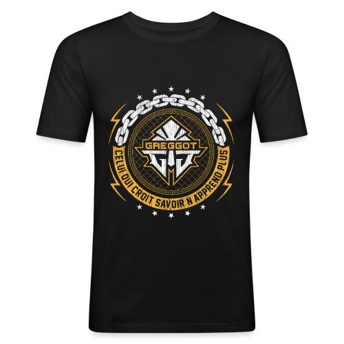 Greggot FRONT - T-shirt près du corps Homme