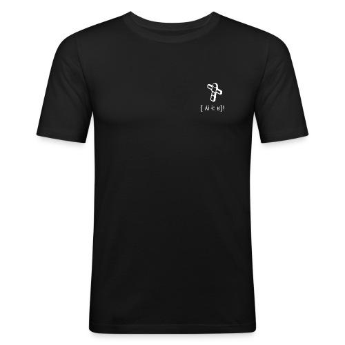 FigOhneBack - Männer Slim Fit T-Shirt