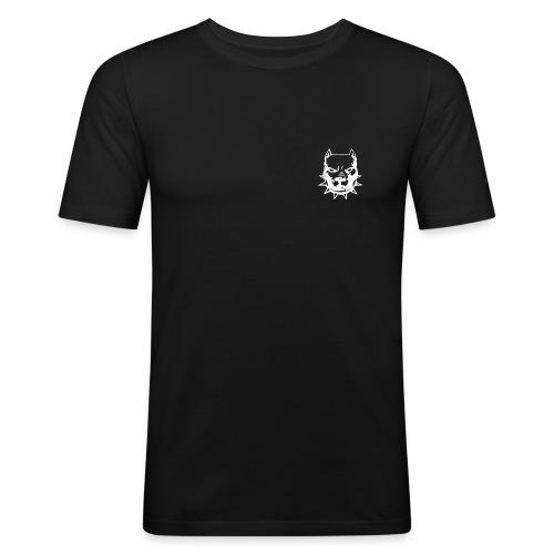 Iron TM logo - Männer Slim Fit T-Shirt