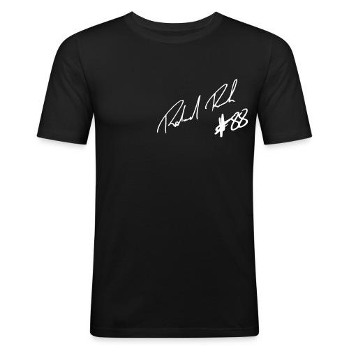 unterschrift rr88 - Männer Slim Fit T-Shirt