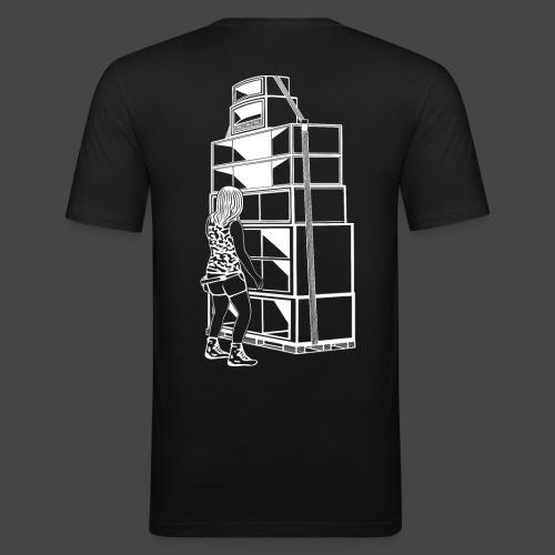 soundsystem tekno 23 fille - T-shirt près du corps Homme