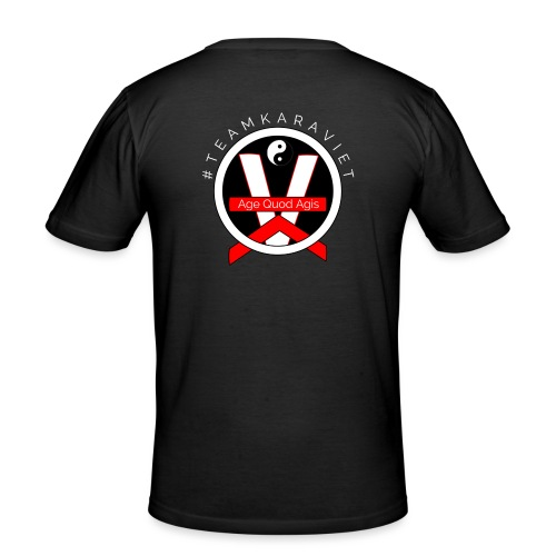 Logo Teamkaraviet T-shirt Dos - T-shirt près du corps Homme